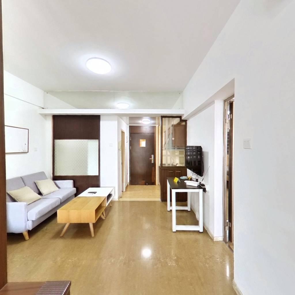 整租·新一代国际公寓 2室1厅 西北卧室图
