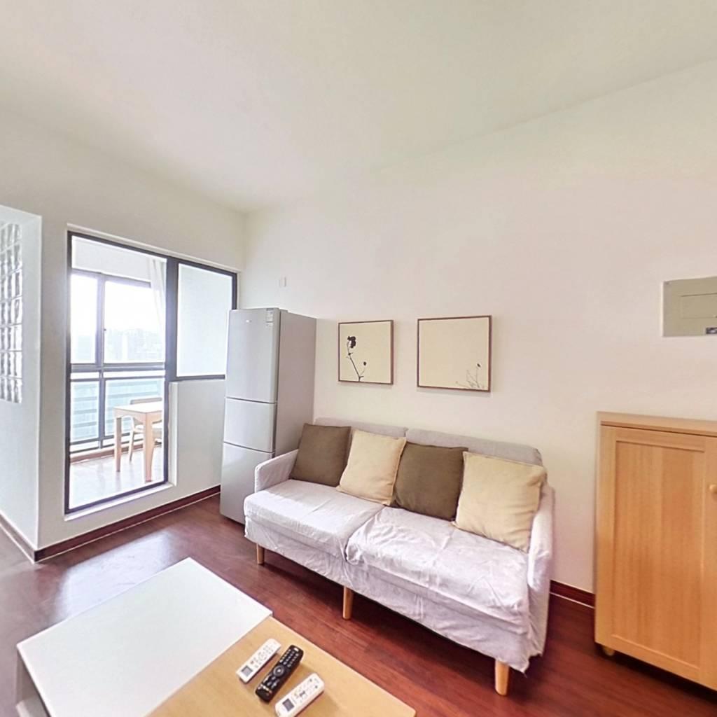 整租·润和原筑 1室1厅 南卧室图