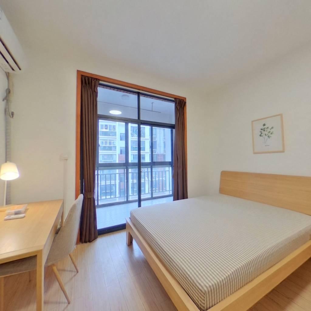 合租·柳林雅居 3室1厅 北卧室图