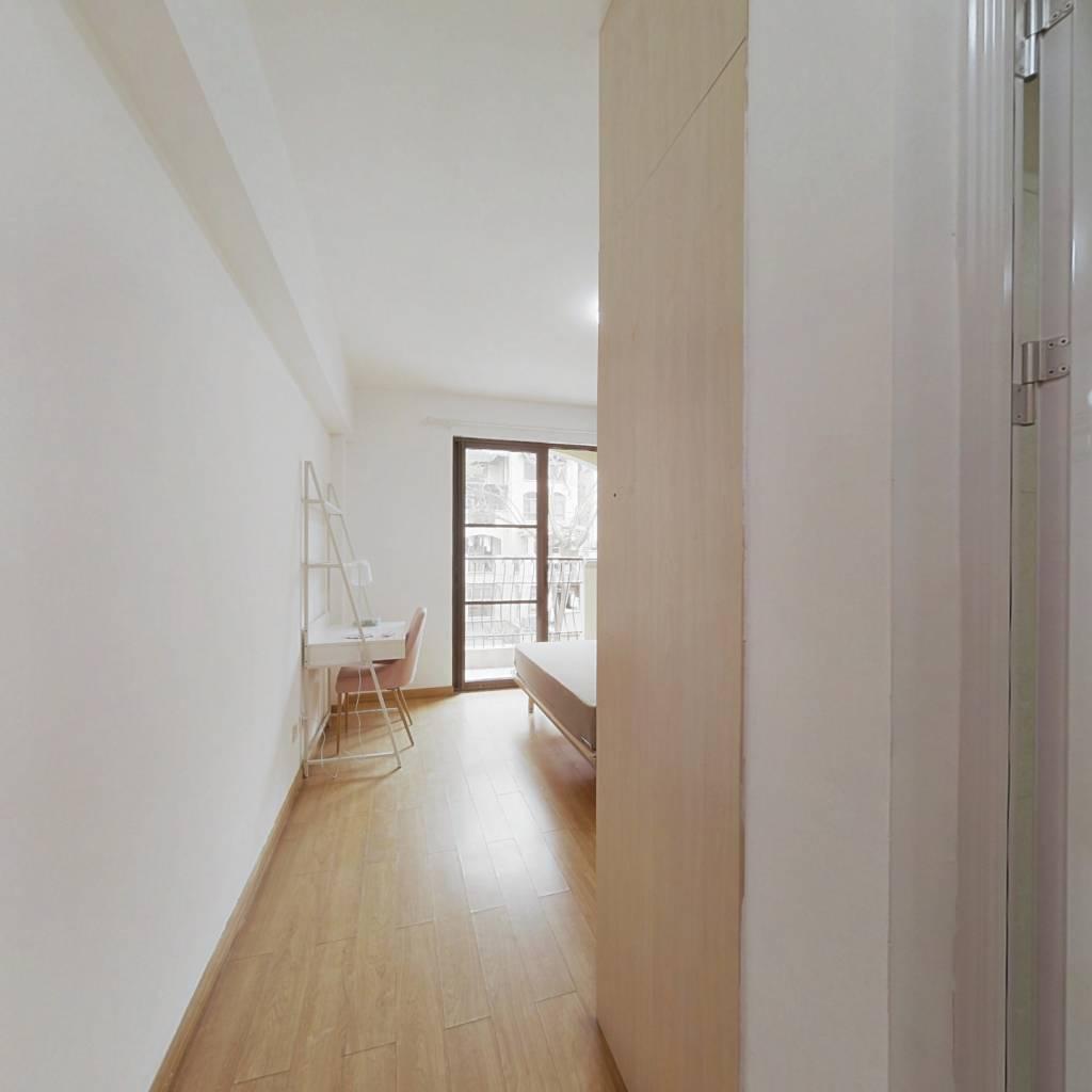 合租·万科城二期 4室1厅 北卧室图