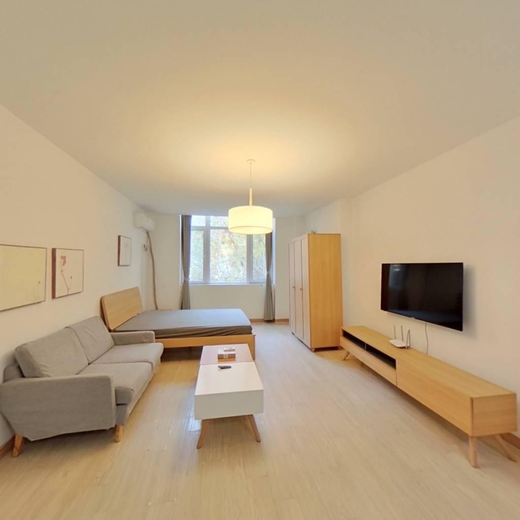 整租·金隅自由筑 1室1厅 南卧室图