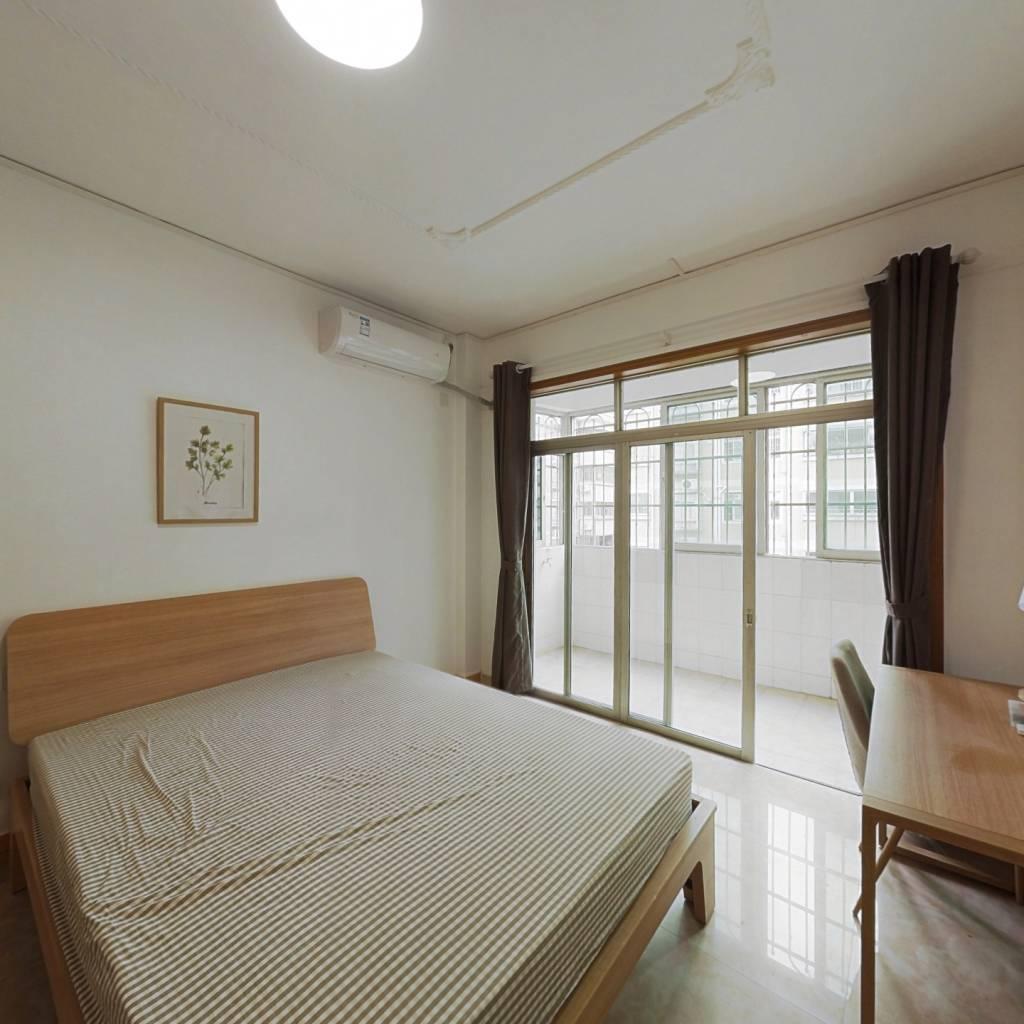 合租·员村公安宿舍 3室1厅 南卧室图