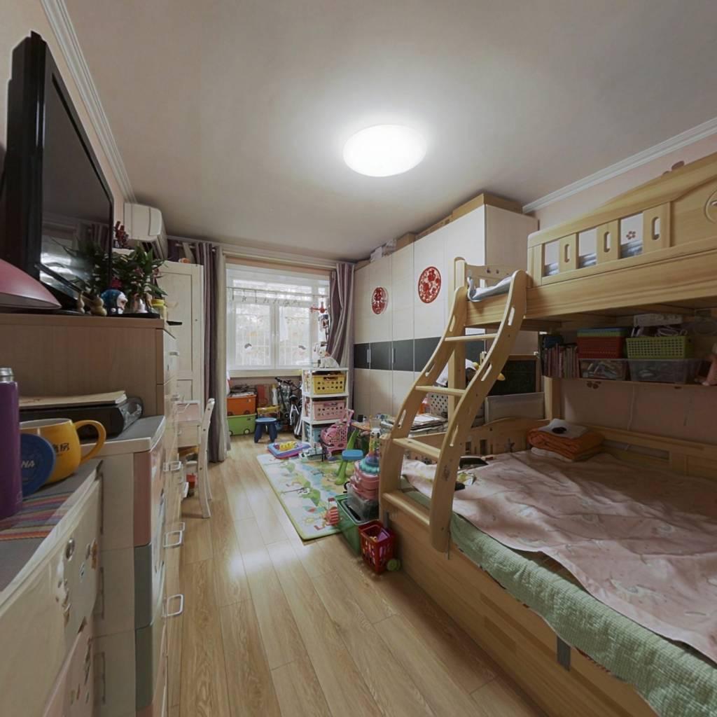甘家口小区前后不临街精装两居室明厨明卫