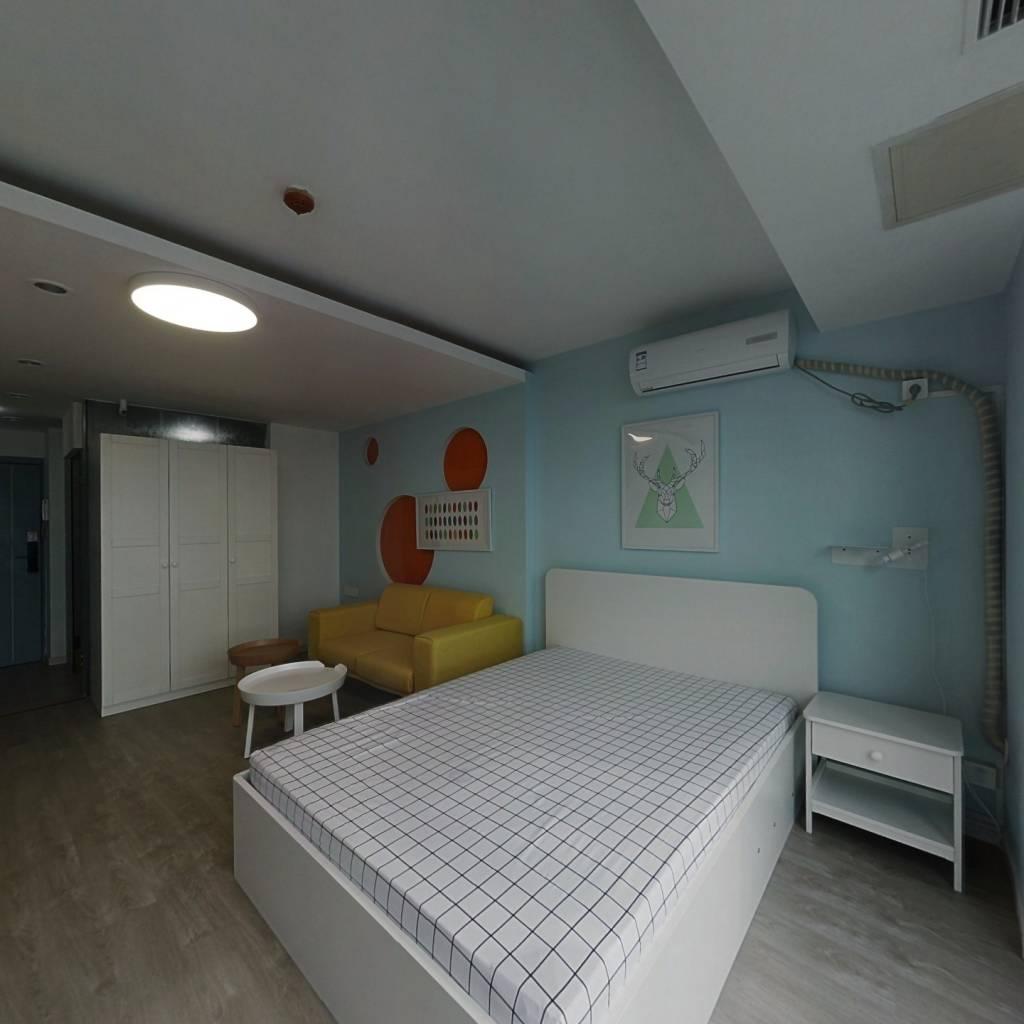 整租·新体育广场 1室1厅 西卧室图