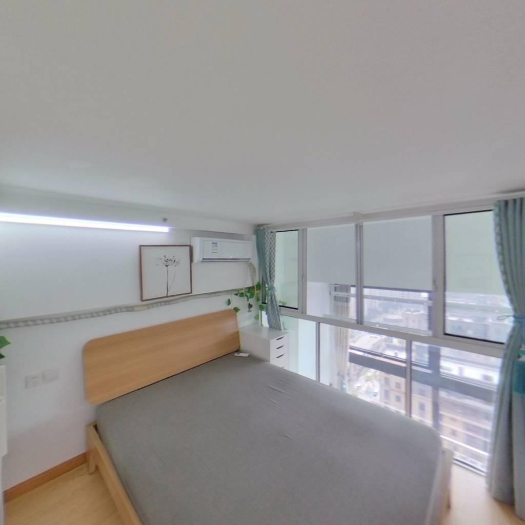 整租·绿地云天坊 1室1厅 南卧室图