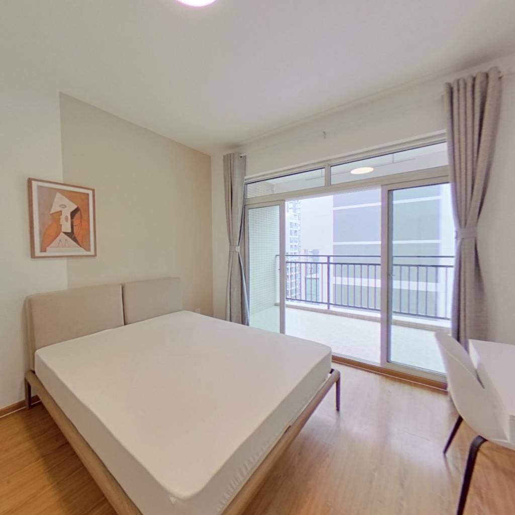 合租·逸都国际 3室1厅 东南卧室图