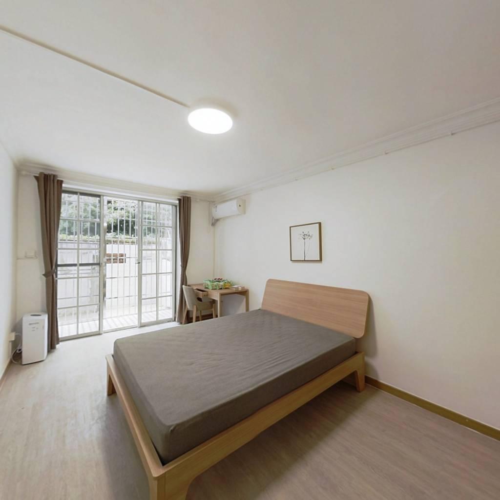 整租·田林十二村 2室1厅 南北卧室图