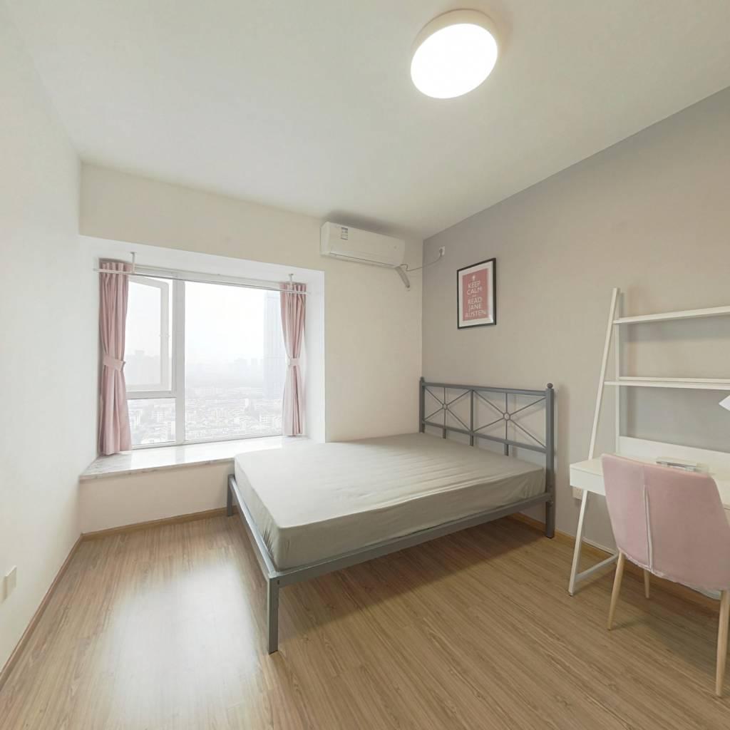 合租·东城攻略 3室1厅 西南卧室图