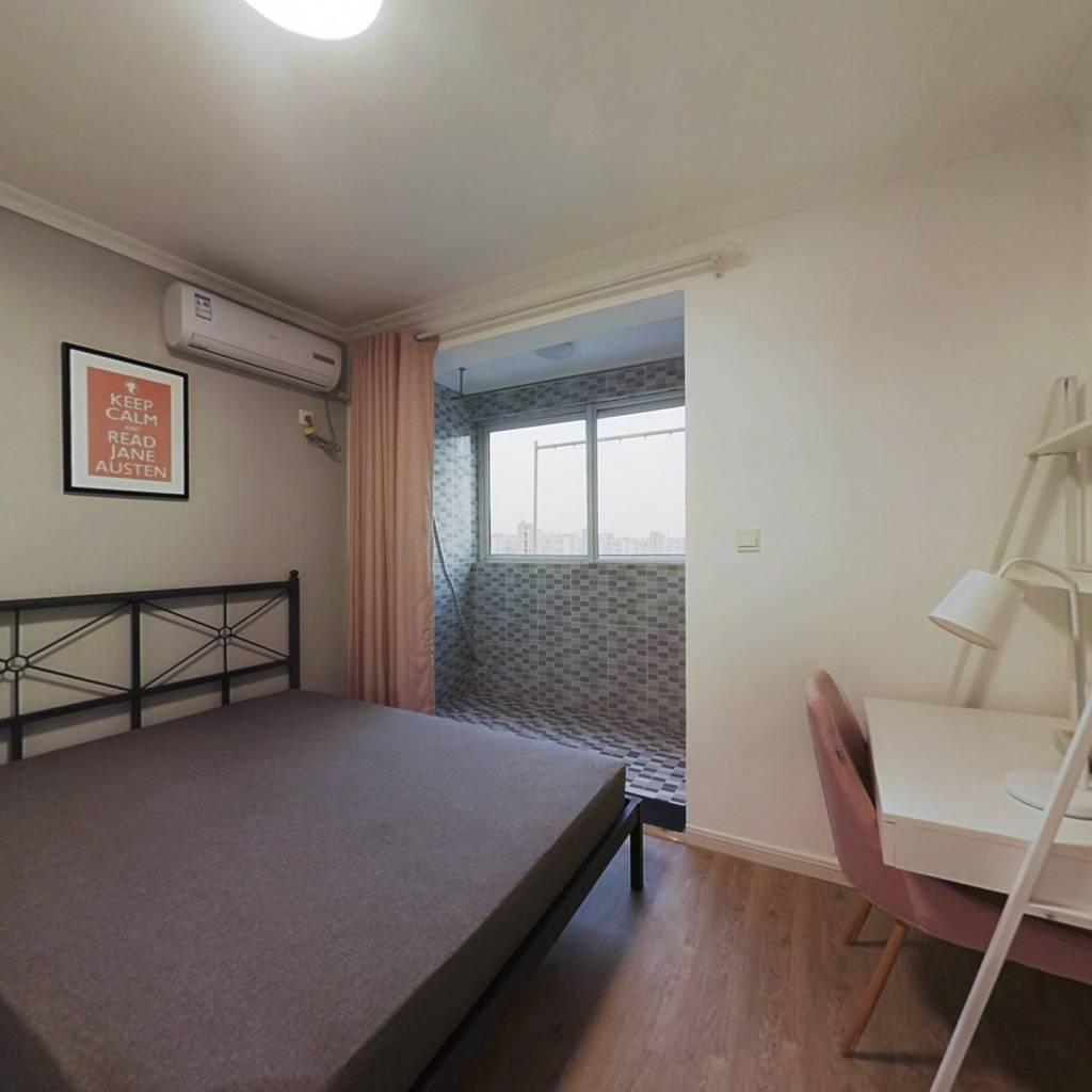 合租·汇景家园汇吉苑 3室1厅 北卧室图