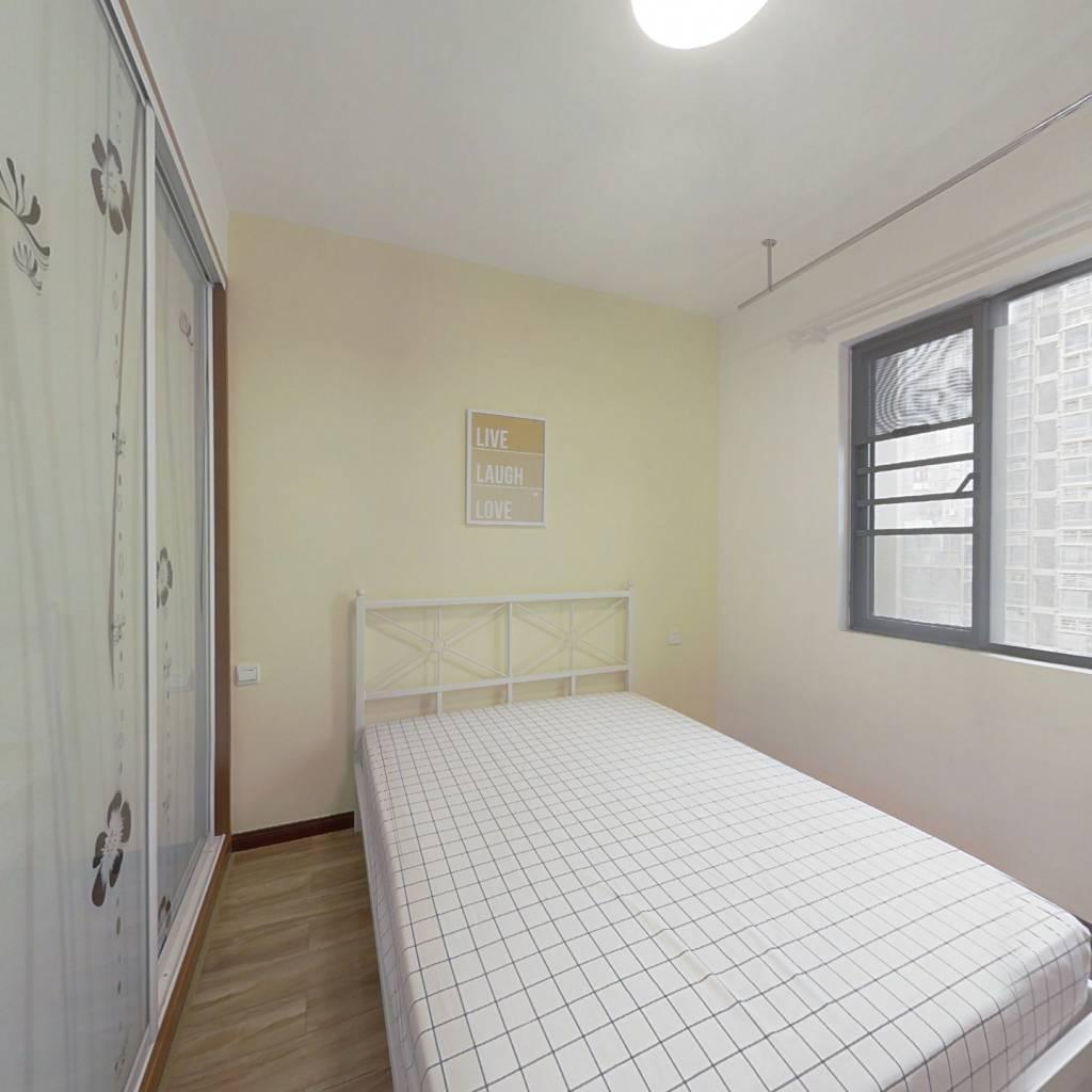 合租·城投瀚城 3室1厅 南卧室图