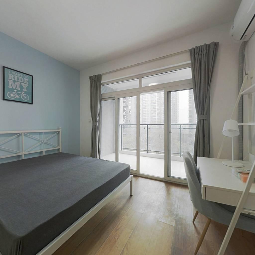 合租·锦城名都 3室1厅 东卧室图