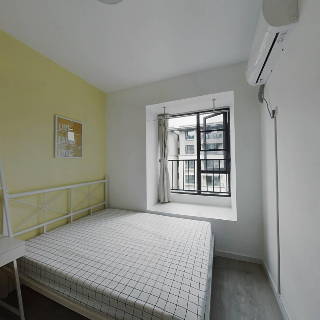 合租·国采光立方 4室1厅 南卧室图