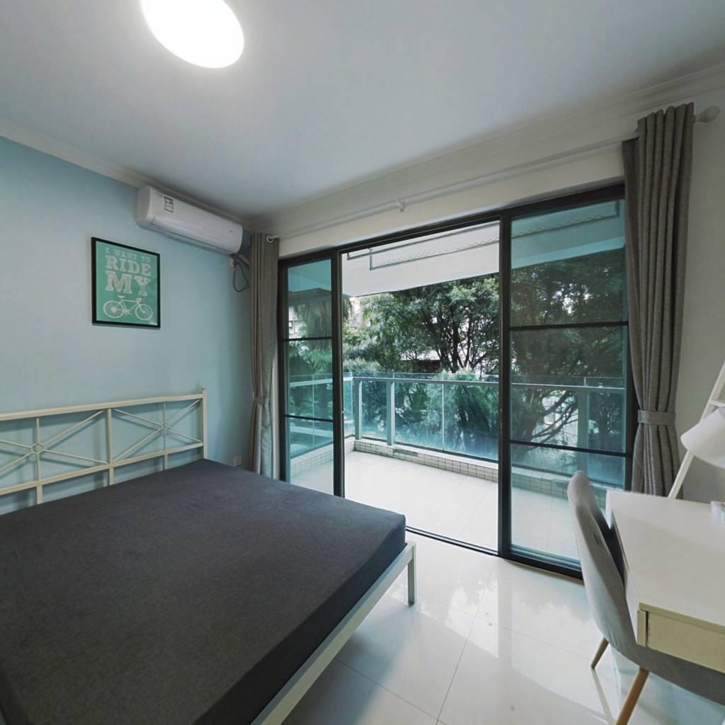 合租·愉景南苑 3室1厅 北卧室图