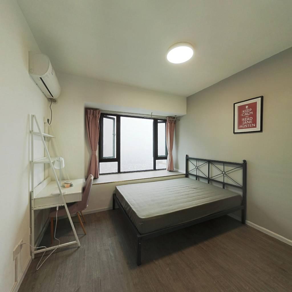 合租·央湖名邸二期 3室1厅 东卧室图