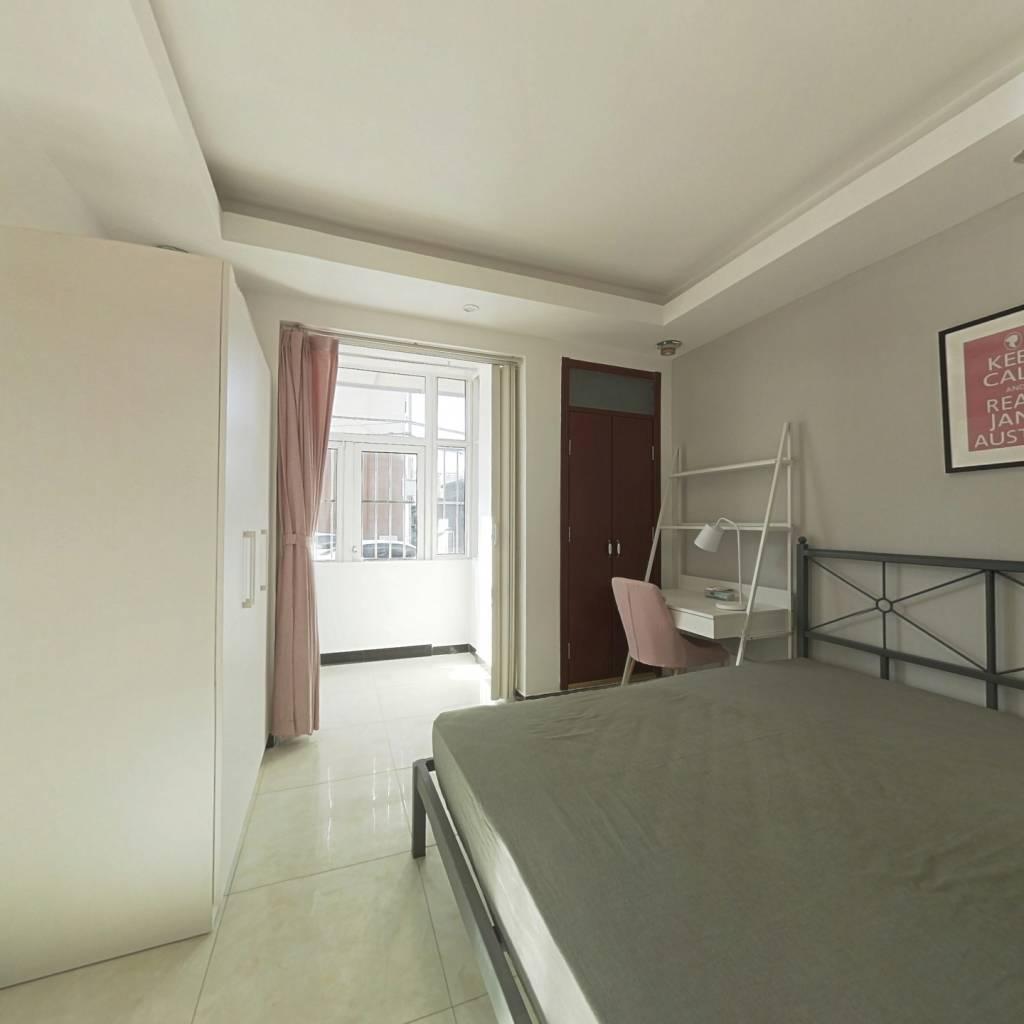 合租·黑窑厂西里 3室1厅 西南卧室图