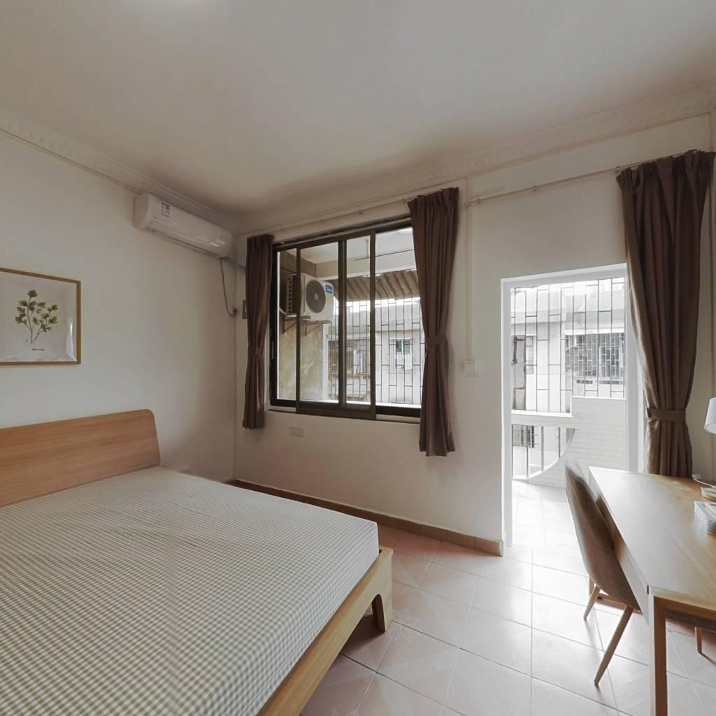 合租·北丽园 3室1厅 北卧室图