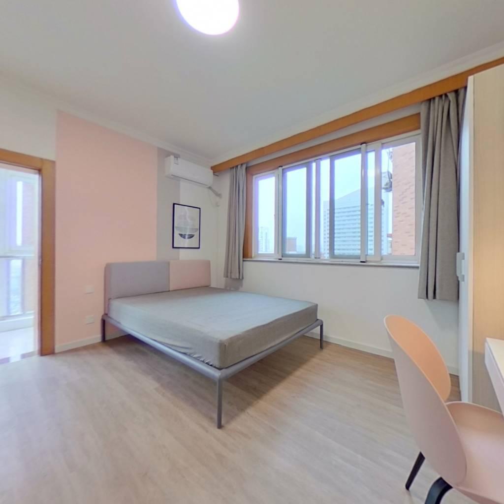 合租·颐宁苑 4室1厅 北卧室图