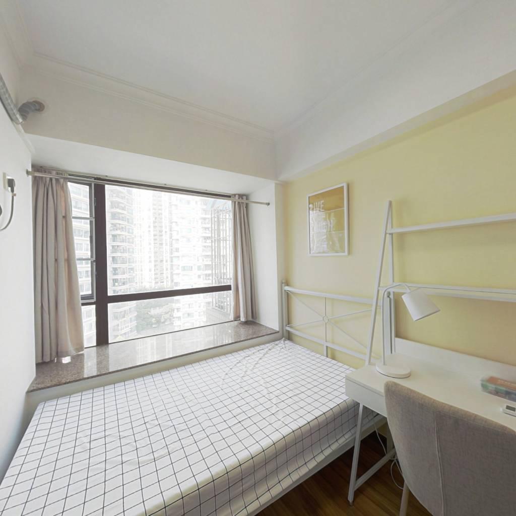 合租·广州雅居乐花园雅悦庭 4室1厅 东南卧室图