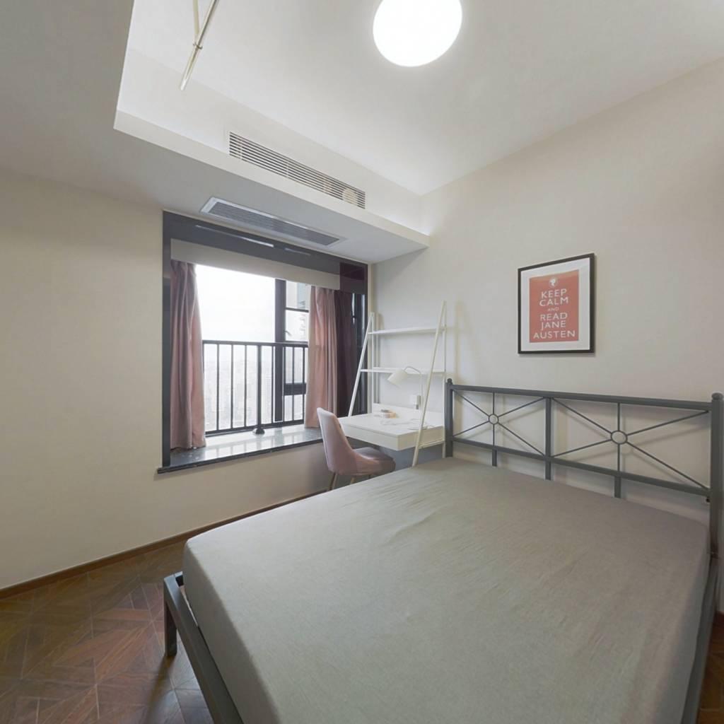 合租·越秀国际金融汇四期 4室1厅 西卧室图