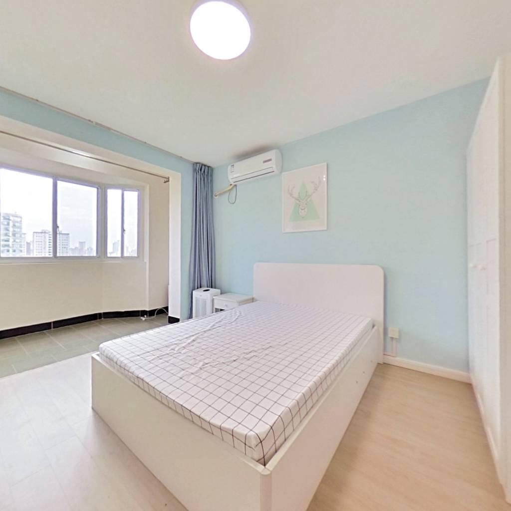 整租·金原新苑 2室1厅 南卧室图