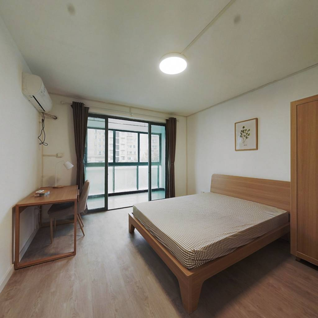 合租·齐爱佳苑 3室1厅 南卧室图
