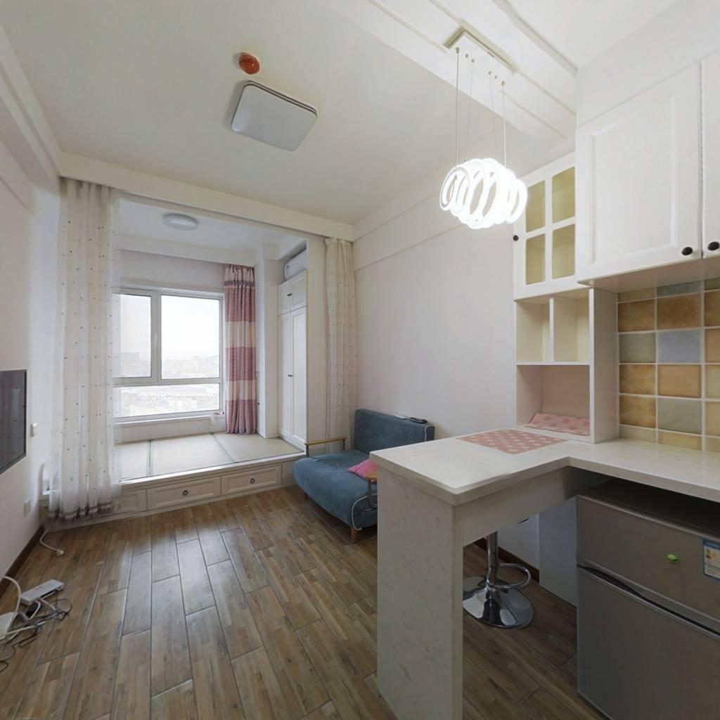 整租·开发区万达广场 1室1厅 西