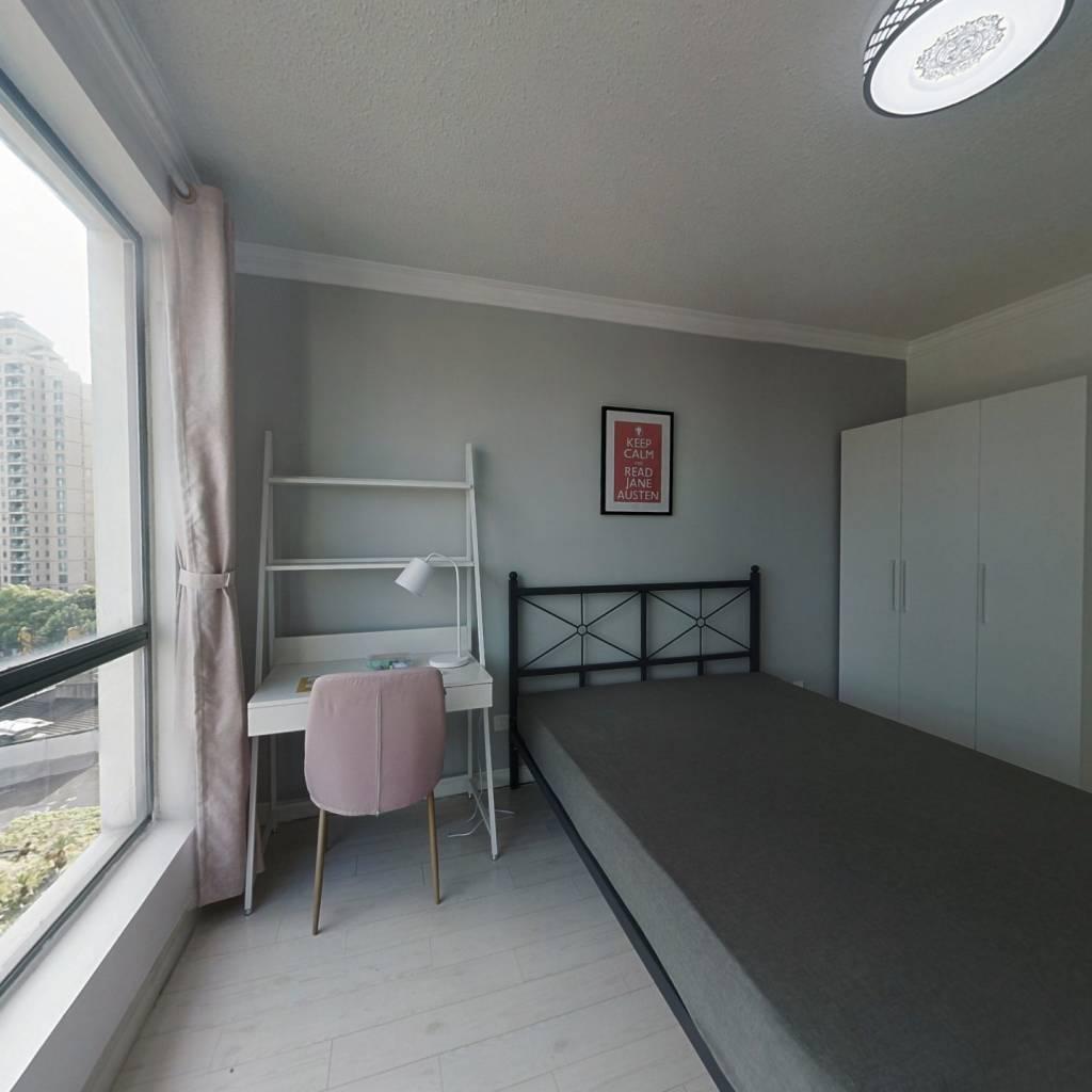 合租·雍景园 4室1厅 北卧室图