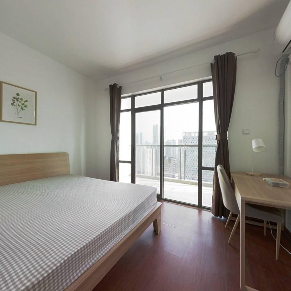 合租·蓉上坊一期 3室1厅 西北卧室图