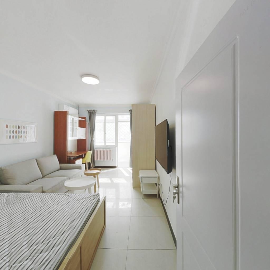 整租·和平街十二区 1室1厅 南卧室图