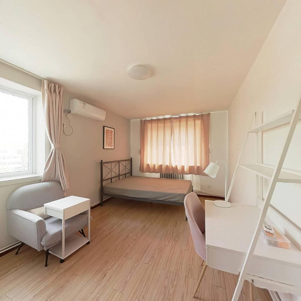 合租·迎风里 2室1厅 北卧室图