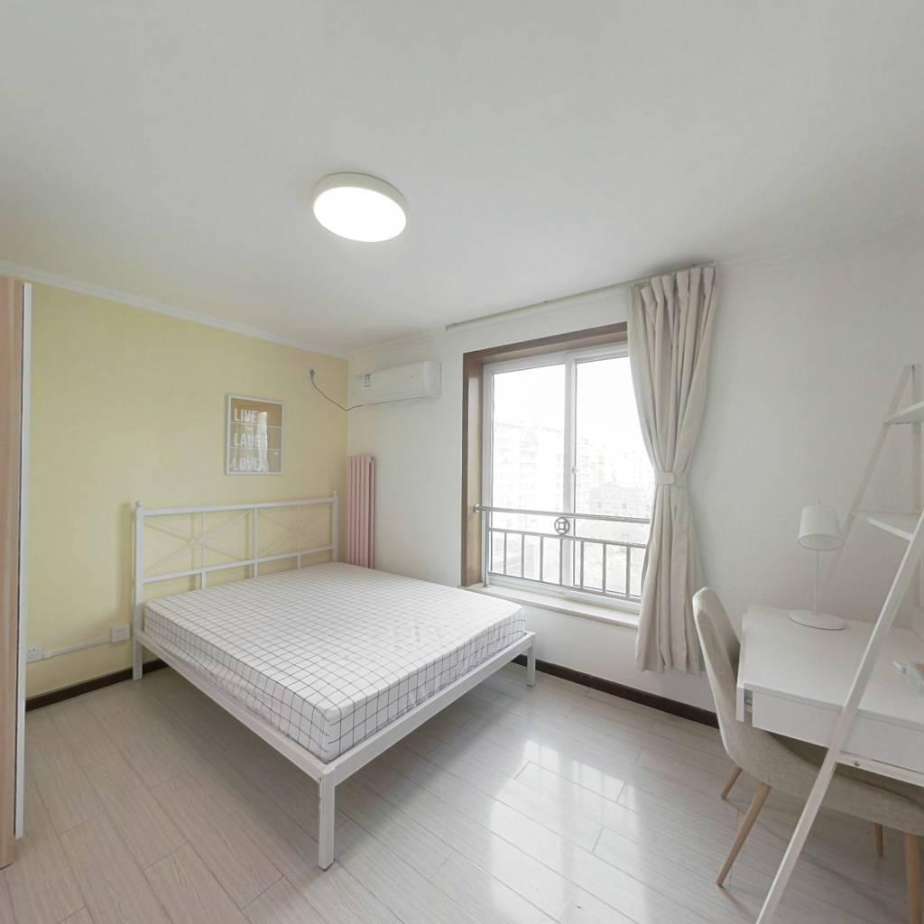 合租·长安新城一区 3室1厅 北卧室图