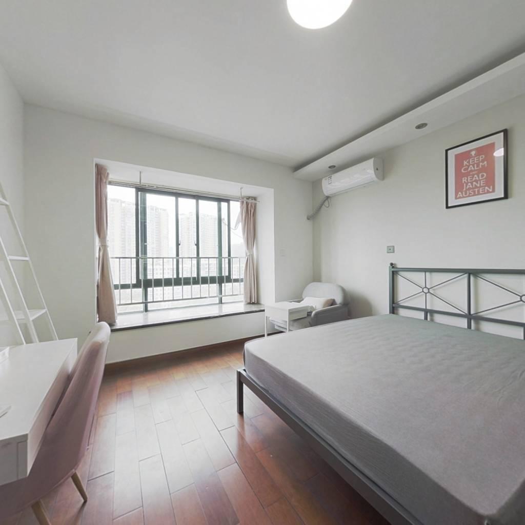 合租·锦江华庭 4室1厅 北卧室图