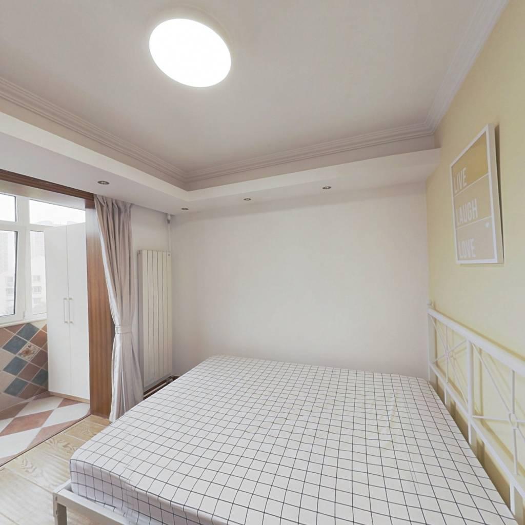 合租·花家地南里 3室1厅 东北卧室图
