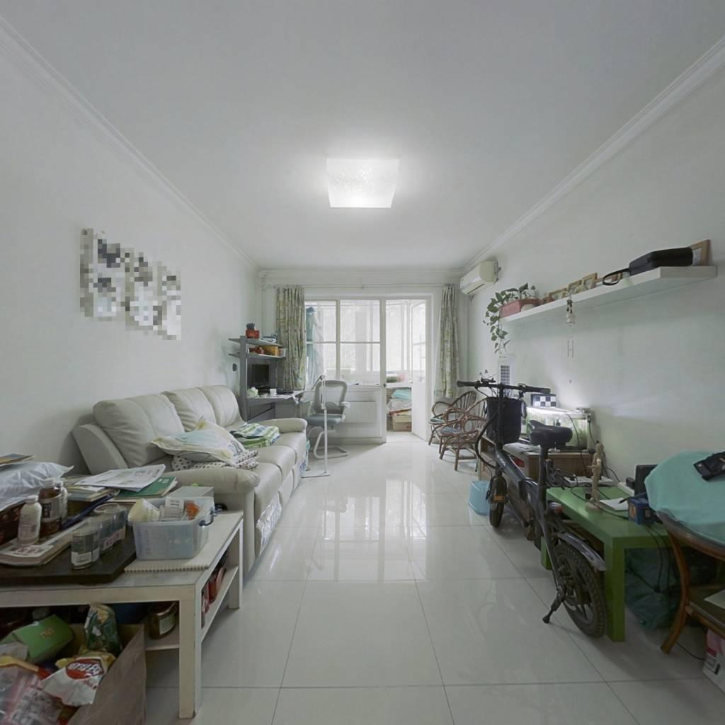 慧忠里低楼层三居室 户型比较方正 南北通透