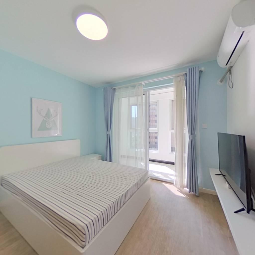 整租·清荷园南园 2室1厅 南卧室图