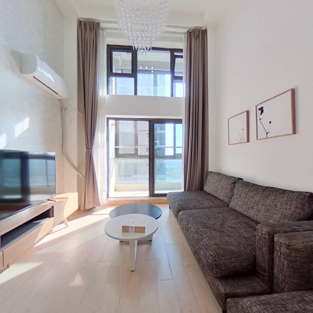 整租·龙湖北城天街 1室1厅 南卧室图