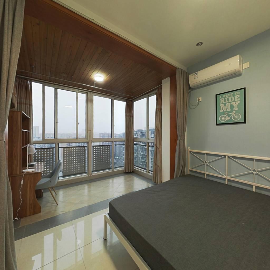 合租·华宇阳光水岸 3室1厅 南卧室图