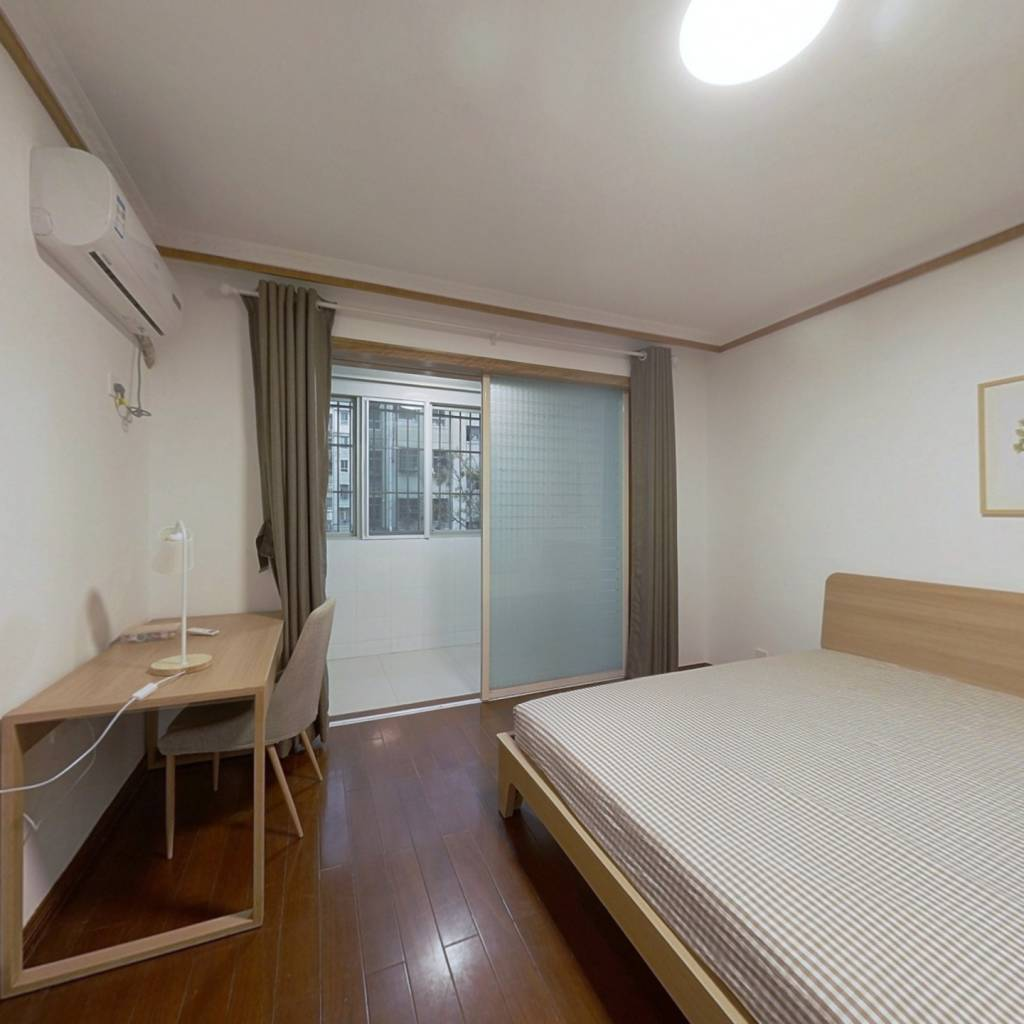 合租·殷巷新寓54至68幢 4室1厅 南卧室图