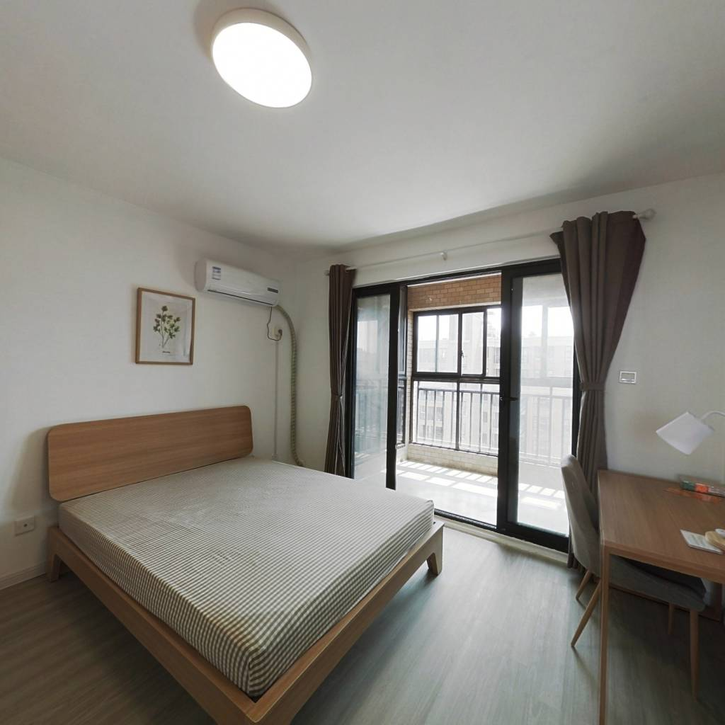 合租·中环国际公寓(三期) 4室1厅 南卧室图