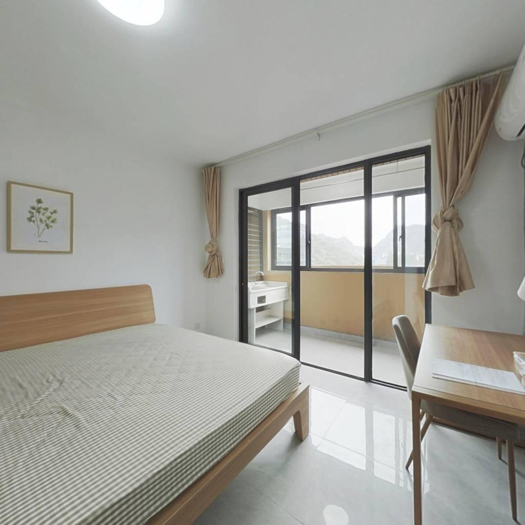 合租·定山西苑二区 3室1厅 南卧室图