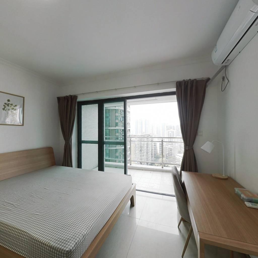 合租·淘金家园二三期 4室1厅 西北卧室图