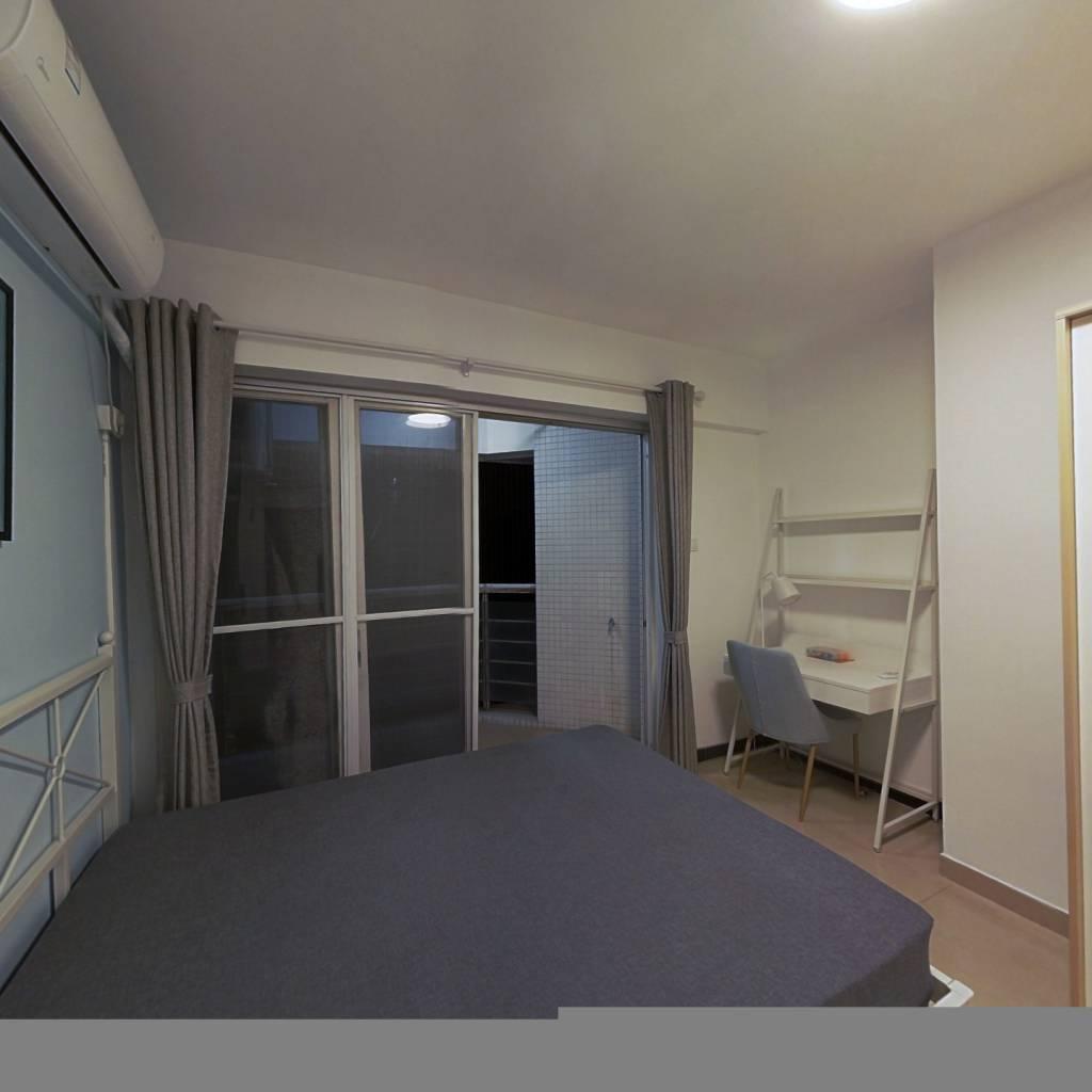 合租·时代玫瑰园 3室1厅 南卧室图