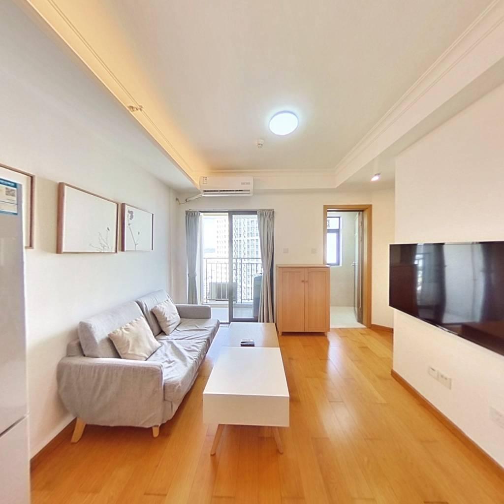 整租·金地龙城中央二期 1室1厅 北卧室图