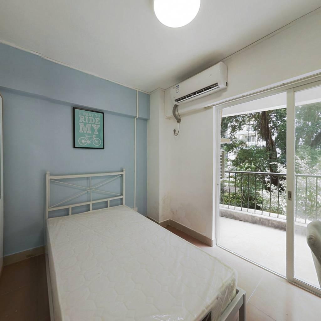 合租·珠江大家庭花园 3室1厅 北卧室图