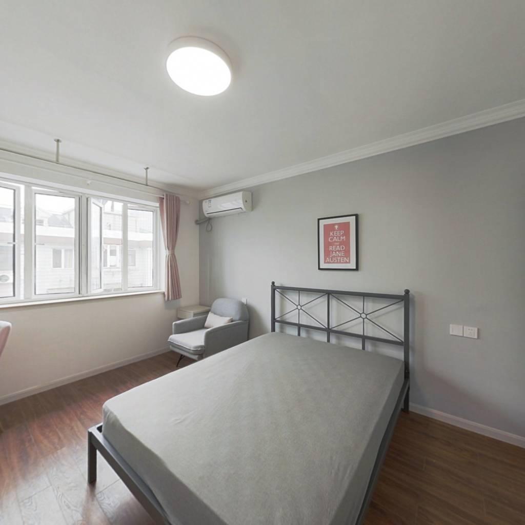 合租·鞍山五村 3室1厅 南卧室图
