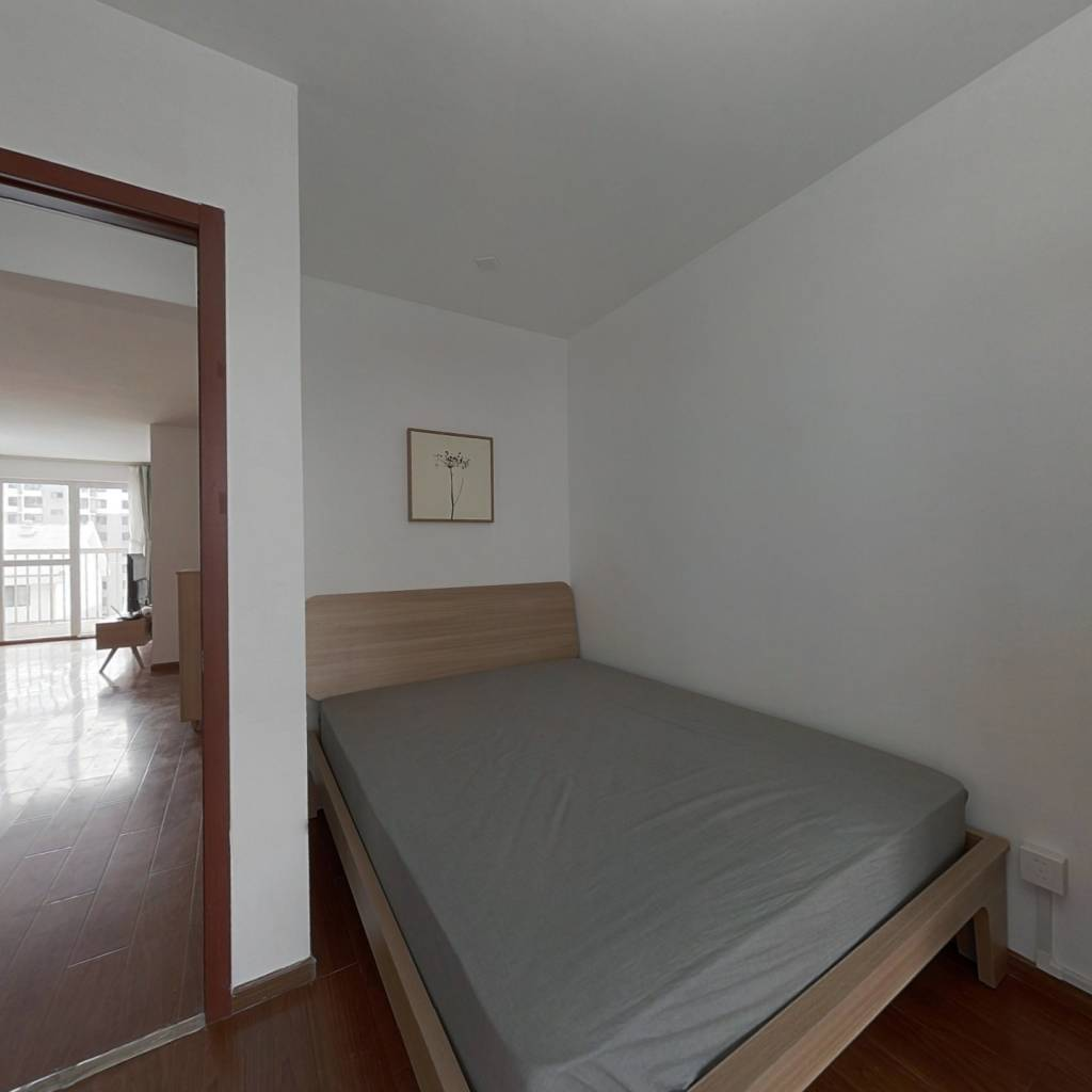 整租·鲁谷74号院 2室1厅 南北卧室图