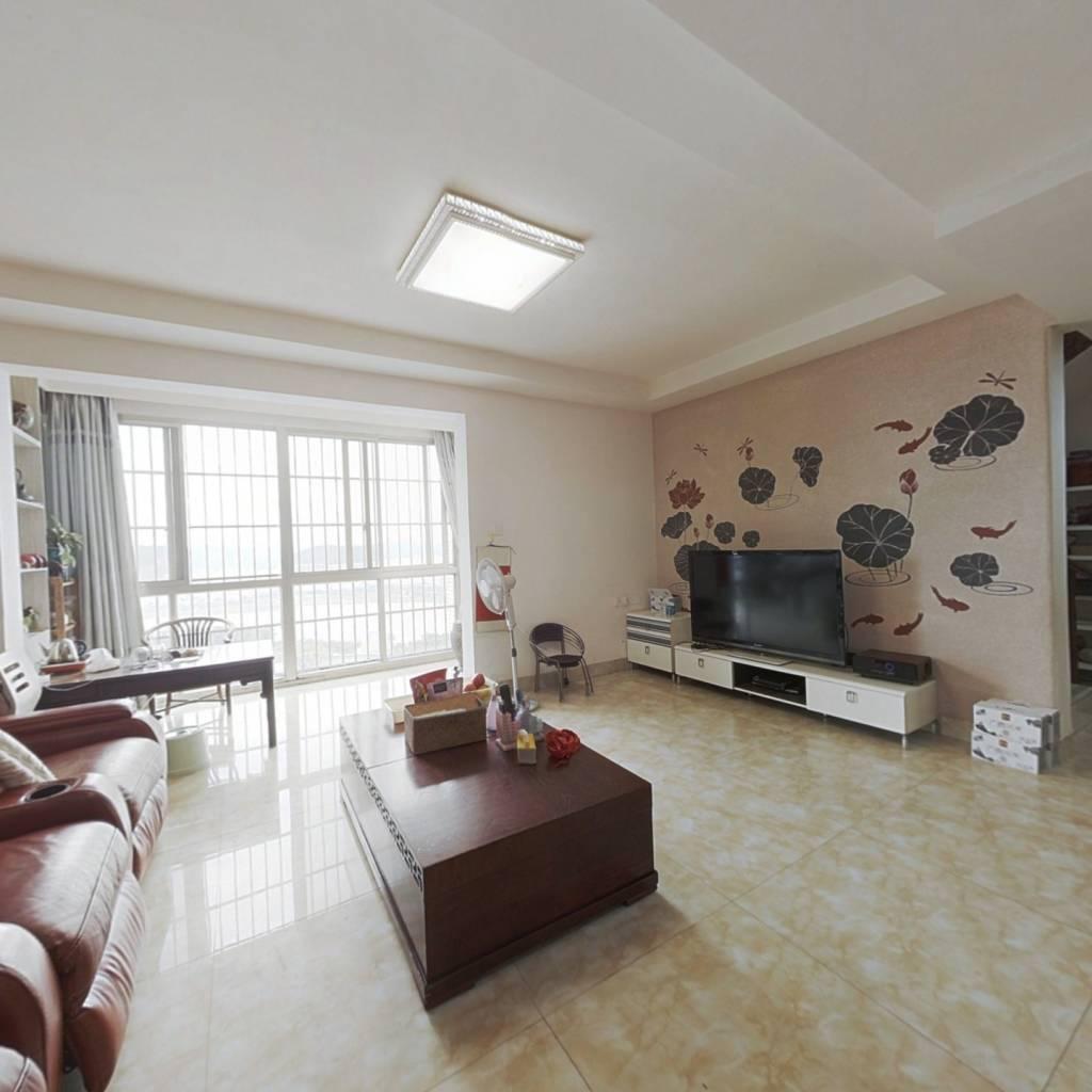 柳沙楼中楼352平8房,一线江景,业主急卖,配子母车位