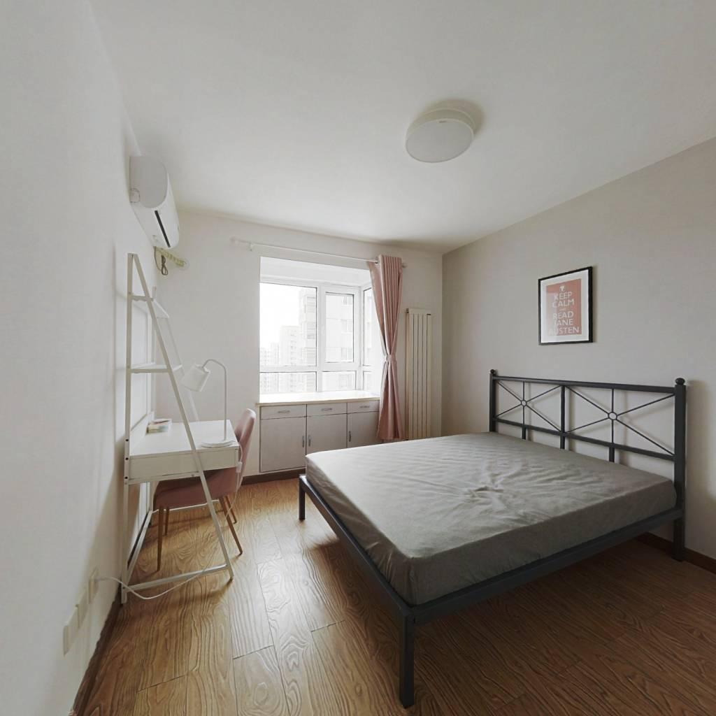 合租·昆俞家园 3室1厅 北卧室图
