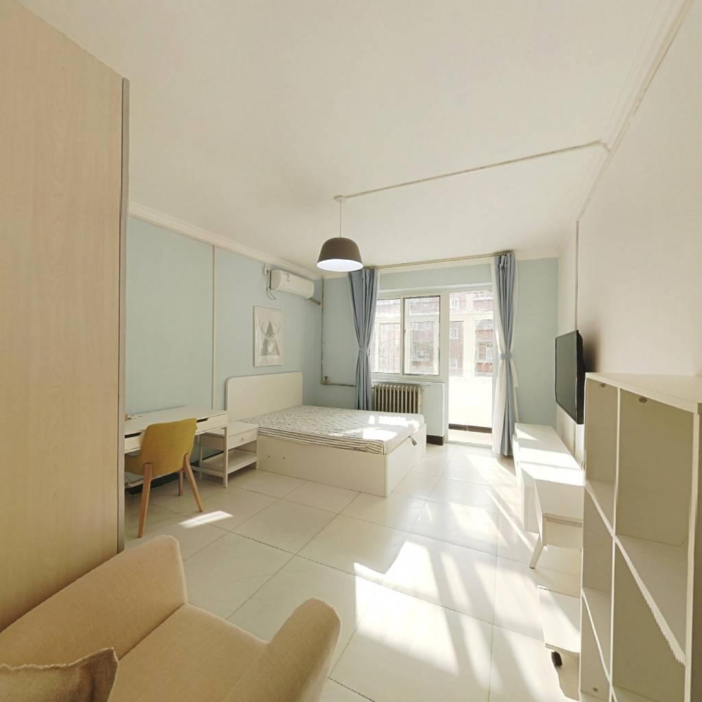 整租·裕中东里 2室1厅 南北卧室图