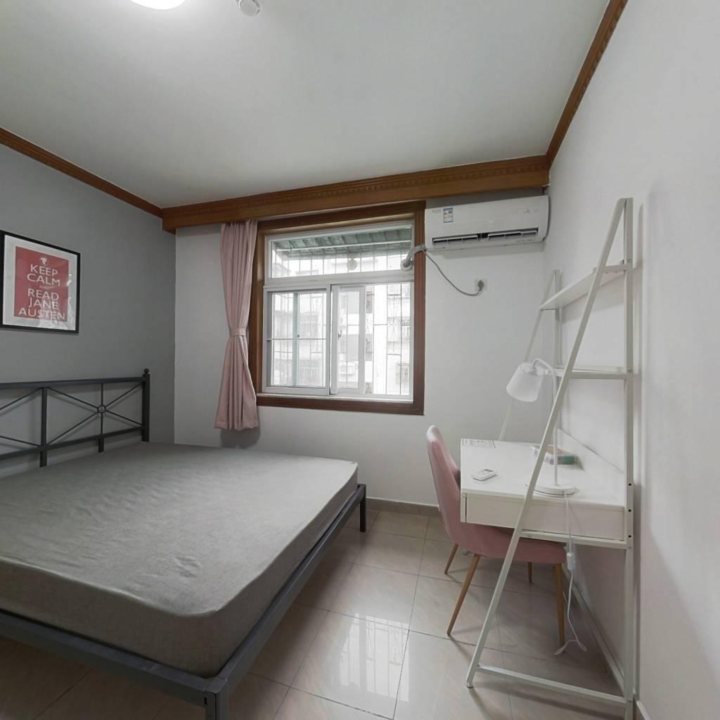 合租·香蜜新村 3室1厅 北卧室图